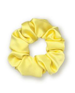 Резинка для волос из натурального шелка MON MOU (Желтый)