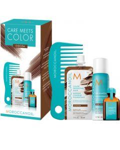 Набор для волос Moroccanoil Color Meets Care Cocoa