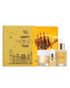 Лимитированный набор для глубокого увлажнения Dr. Ceuracle «Happy Honey Year» 4 в 1