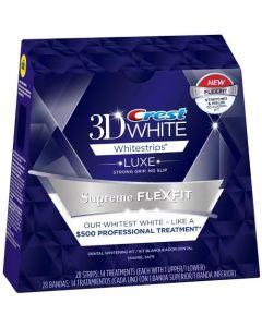 Отбеливающие полоски Crest Whitestrips Supreme FLEXFIT