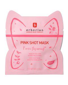 Тканевая маска для сужения пор Erborian PINK SHOT MASK