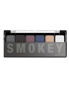 Палитра теней NYX THE SMOKEY SHADOW PALETTE