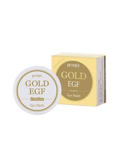 Гидрогелевые патчи для глаз c золотом PETITFEE Premium Gold Eye Patch