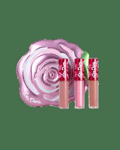 Набор матовых мини помад Lime Crime Pink Velve-Tins Boxed Set