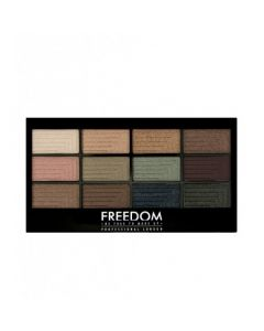 Палетка теней для век Freedom Makeup London Pro 12 Eyeshadow Romance and Jewels