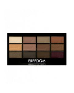 Палетка теней для век Freedom Makeup London Pro 12 Eyeshadow Secret Rose