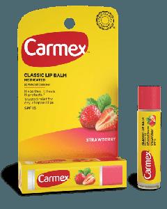 Бальзам для губ в стике Carmex Strawberry Lip Balm