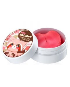 Патчи для глаз и щек Secret Key Pink Racoony Hydro-Gel Eye & Cheek Patch