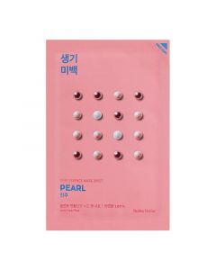 Тканевая маска для лица с жемчугом Holika Holika Pure Essence Mask Sheet Pearl