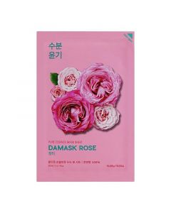 Тканевая маска для лица с экстрактом дамасской розы Holika Holika Pure Essence Mask Sheet Damask Rose