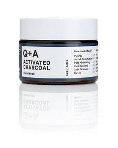 """Маска для лица """"Детокс"""" Q+A Activated Charcoal Face Mask"""