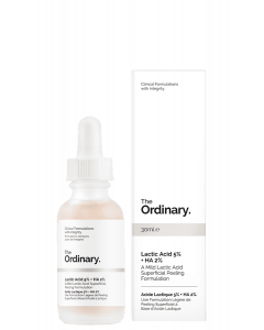 Молочная кислота Lactic Acid 5% + HA The Ordinary