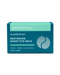 Ночные восстанавливающие патчи 30 пар Patchology FlashPatch Restoring Night Eye Gels