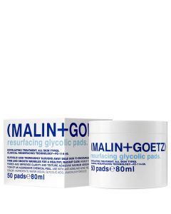 Диски - эксфолианты для лица MALIN+GOETZ Resurfacing Glycolic Pads