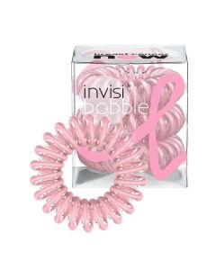Резинка-браслет для волос 3 шт. Invisibobble Pink Power