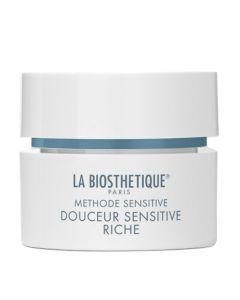 Регенерирующий крем для сухой и очень сухой чувствительной кожи La Biosthetique Douceur Sensitive Riche