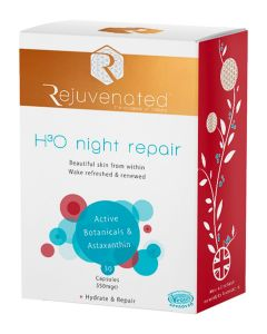 Активные капсулы для ночного восстановления и увлажнения кожи Rejuvenated Collagen H3O Night Repair