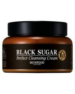 Очищающий крем с экстрактом черного сахара SKINFOOD Black Sugar Perfect Cleansing Cream