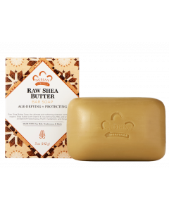 Мыло Nubian Heritage RAW SHEA BUTTER