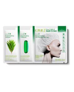 Комплекс 3 в 1 для жирной кожи головы Double Dare OMG! 3in1 Self Hair Clinic Scalp Care