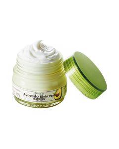 Питательный крем для лица с авокадо SKINFOOD Premium Avocado Rich Cream
