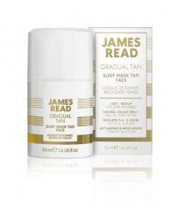 Ночная маска для лица с эффектом загара James Read Sleep Mask Tan Face