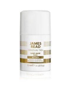 Ночная маска для лица с эффектом загара James Read Sleep Mask Tan Face Retinol