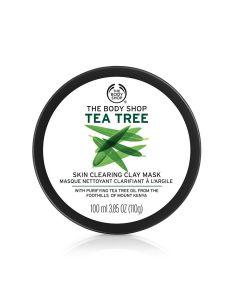 Маска для лица с чайным деревом The Body Shop Tea Tree Skin Clay Mask