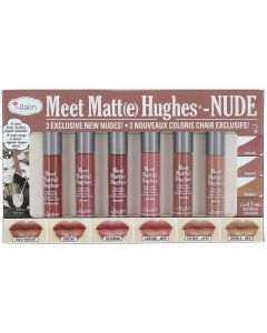 Набор матовых помад theBalm Meet Matte Hughes - Nude
