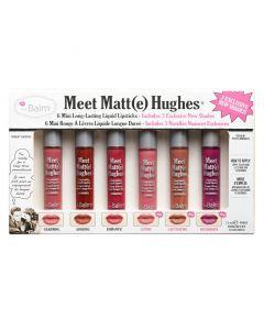 Набор матовых помад theBalm Meet Matte Hughes Set of 6 Mini Long-Lasting Liquid Lipsticks - Vol. 3