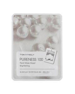 Тканевая маска с экстрактом жемчуга TONY MOLY Pureness 100 Pearl Mask Sheet