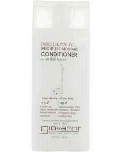Несмываемый кондиционер Giovanni Eco Chic Hair Care Conditioner Direct Leave-In