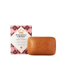 Мыло Nubian Heritage PATCHOULI & BURITI BAR SOAP