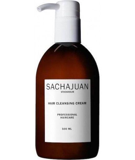 Крем для бережного глубокого очищения кожи, блеска и увлажнения волос SACHAJUAN Hair Cleansing Cream
