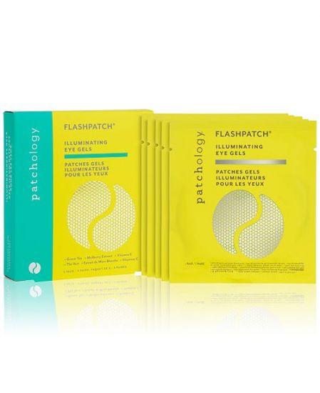 Патчи для сияния с витамином С 5 пар Patchology FlashPatch Illuminating Eye Gels