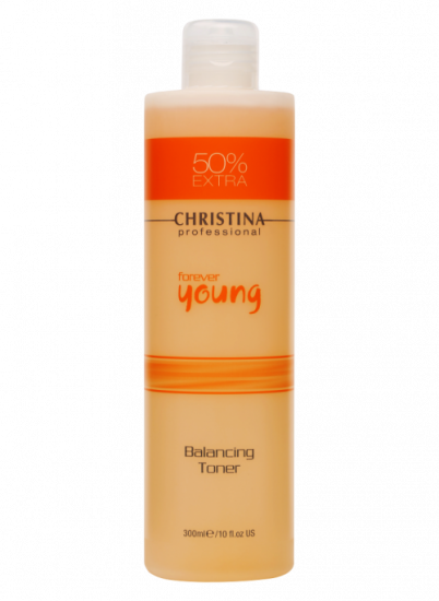 Балансирующий тоник с альфагидроксильными кислотами Christina Forever Young Balancing Toner PH 3,2-3,7