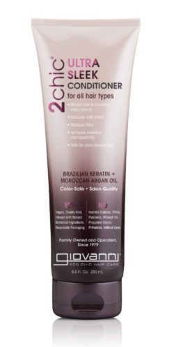 Кондиционер для волос Giovanni 2chic Ultra-Sleek Conditioner Brazilian Keratin & Argan Oil