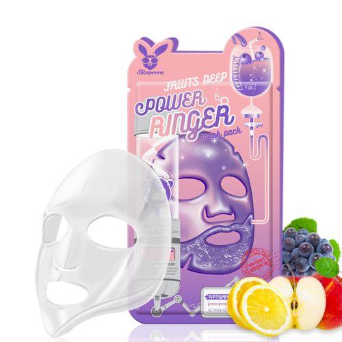 Маска для лица фруктовая Elizavecca Face Care Fruits Deep Power Ringer Mask Pack