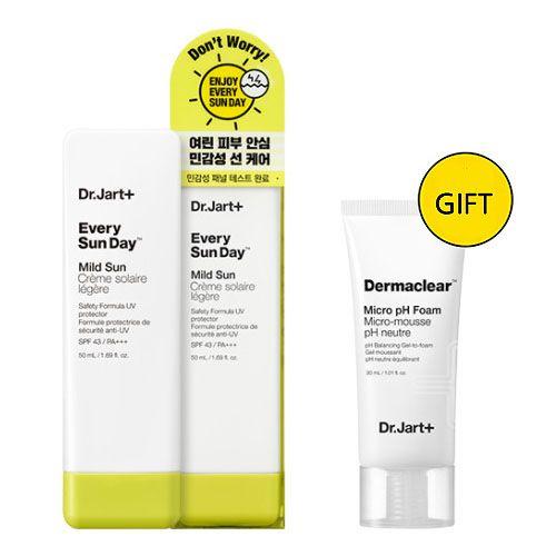 Солнцезащитное средство для лица Dr.Jart+ Every Sun Day Mild Sun SPF43 PA+++