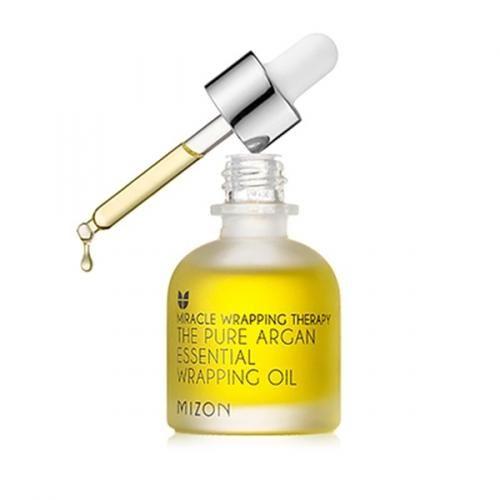 Сыворотка с маслом арганы MIZON The Pure Argan Essential Wrapping Oil