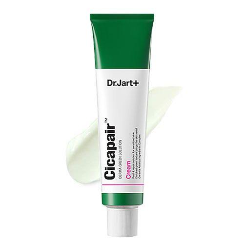 Регенерирующий крем-антистресс для лица Dr.Jart+ Cicapair Derma Green-Cure Solution Cream
