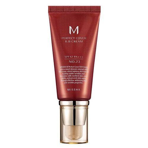 BB крем Missha M Perfect Cover BB Cream SPF 42 PA+++ No.23/Natural Beige