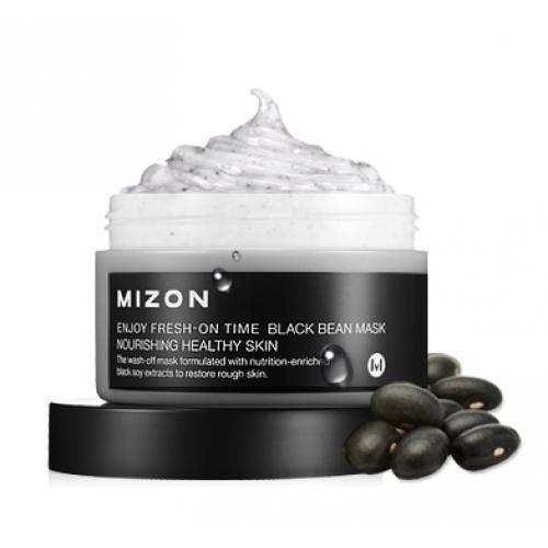 Маска с черными соевыми бобами MIZON Enjoy Fresh-On Time Black Bean Mask