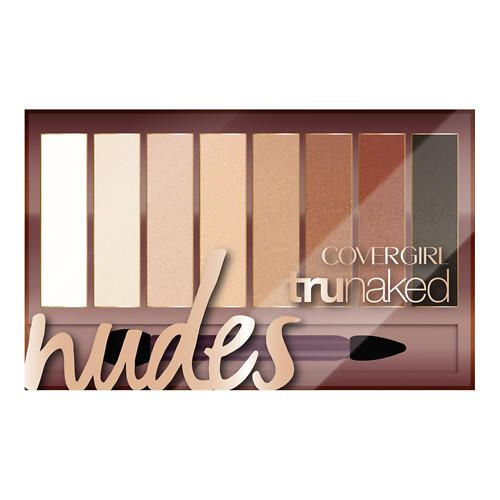 Палитра теней Covergirl truNAKED Eyeshadow Nudes