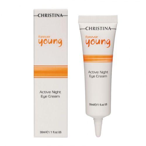Ночной крем для зоны вокруг глаз Christina Forever Young Active Night Eye Cream