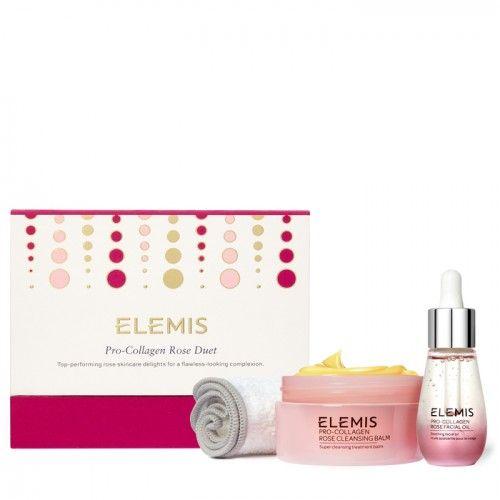 Набор Про-Коллаген Дуэт Роза Elemis Pro-Collagen Rose Duet Gift Set