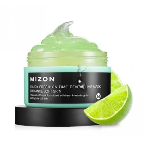 Маска с экстрактом лайма MIZON Enjoy Fresh-On Time Revital Lime Mask