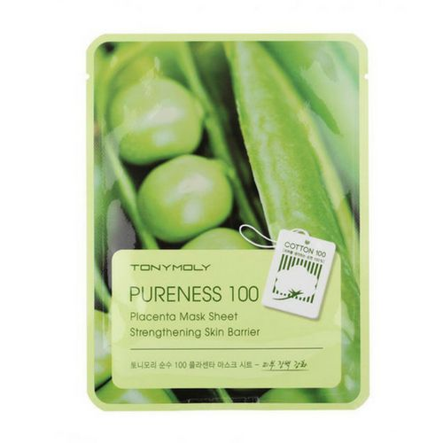 Тканевая маска плацентарная TONY MOLY Pureness 100 Placenta Mask Sheet