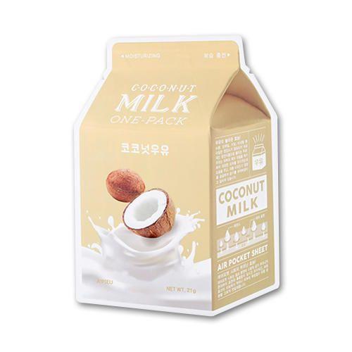 Тканевая маска A'PIEU Coconut Milk One-Pack (Moisturizing)