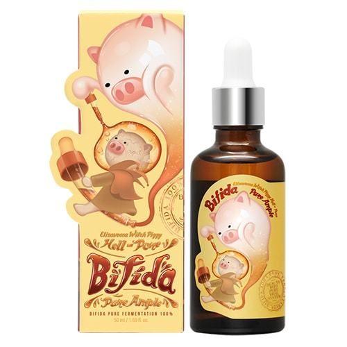Восстанавливающая сыворотка на основе лизата бифидобактерий 100% Elizavecca Witch Piggy Hell-Pore Bifida Pure Ample